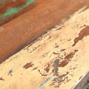 vidaXL Console Table with 3 Drawers Reclaimed Wood[6/12]