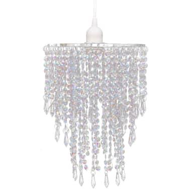Lámpara colgante elegante con cristales, 22.5 x 30.5 cm[2/14]