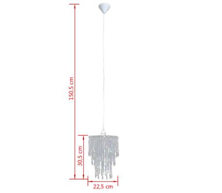 Kroonluchter met kristallen 22,5 x 30,5 cm[12/14]