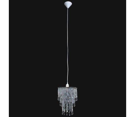 Lámpara colgante elegante con cristales, 22.5 x 30.5 cm[4/14]