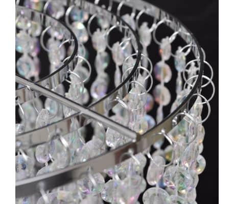 Lámpara colgante elegante con cristales, 22.5 x 30.5 cm[6/14]