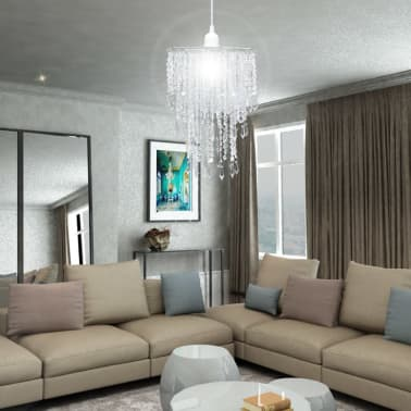 Kroonluchter met kristallen 22,5 x 30,5 cm[4/14]