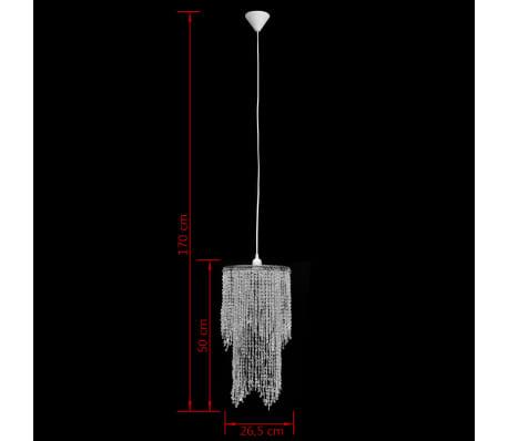 Krištolinis Sietynas, Pakabinamas Šviestuvas 26,5 x 50 cm[9/11]