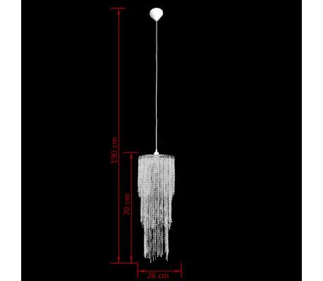 Krištolinis Sietynas, Pakabinamas Šviestuvas 26 x 70 cm[9/11]