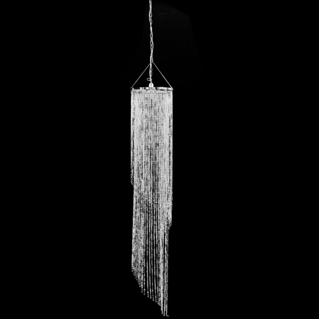 Křišťálový lustr 33 x 183 cm