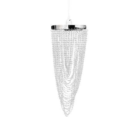 Candelabro de tecto, cristal / 22 x 58 cm[2/10]