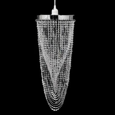 Candelabro de tecto, cristal / 22 x 58 cm[1/10]