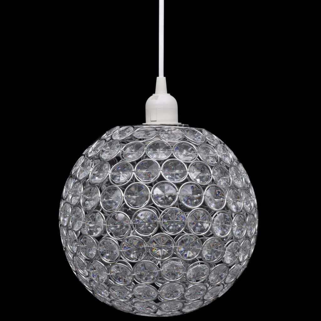 Lampă de tavan cu abajur rotund, Diametru 23 cm imagine vidaxl.ro