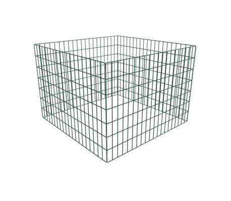 vidaXL Komposto dėžė, tinkl., 100x100x70cm, kvadrato formos[1/3]