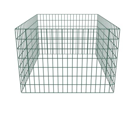 Composteur de jardin carré en maille 100 x 100 x 70 cm[2/3]