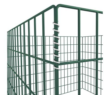 Einzäunung für Gartenkomposthaufen Quadratmaschenzaun 100 x 100 x 70cm[3/3]