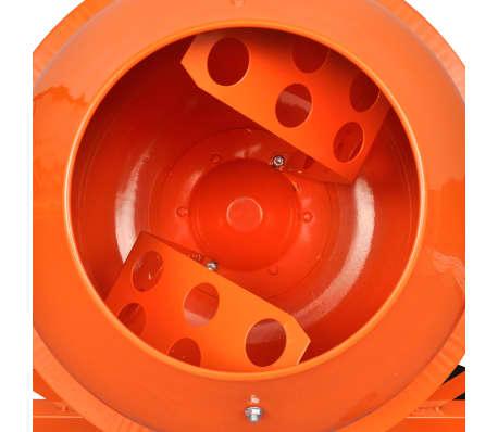 Hormigonera naranja eléctrica de acero, 63 litros, 220 V[2/5]