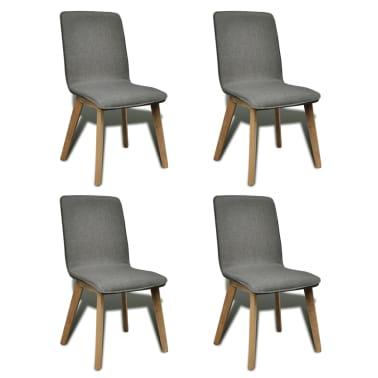 acheter vidaxl chaise de salle manger 4 pcs cadre en. Black Bedroom Furniture Sets. Home Design Ideas