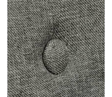 vidaXL Blagovaonske stolice tkanina i hrastovina 2 kom tamno sive[5/7]