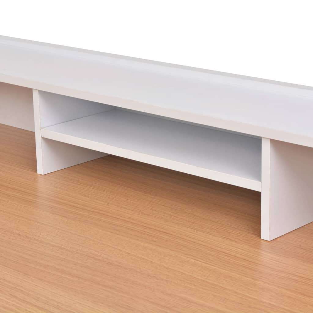 Psací stůl / PC stůl v přírodní barvě dřeva