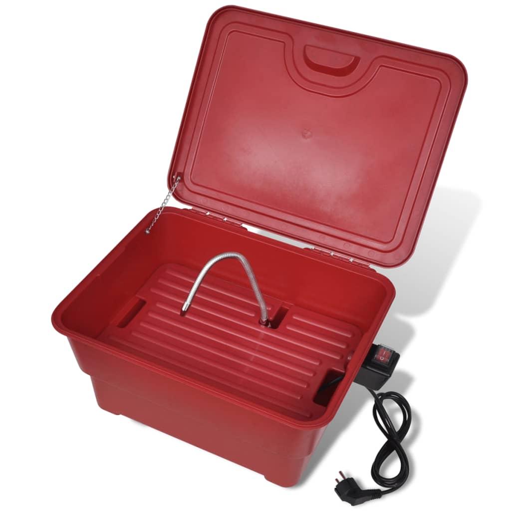 Přenosná vana pro mytí dílů s elektrickým čerpadlem - 25 L