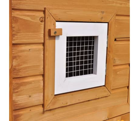 Outdoor Large Rabbit Hutch House Pet Cage Single House[6/9]