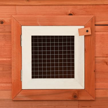 Outdoor Large Rabbit Hutch House Pet Cage Double House[7/8]