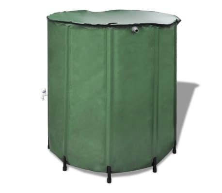 acheter r cup rateur d 39 eau pluviale pliable 500l pas cher. Black Bedroom Furniture Sets. Home Design Ideas