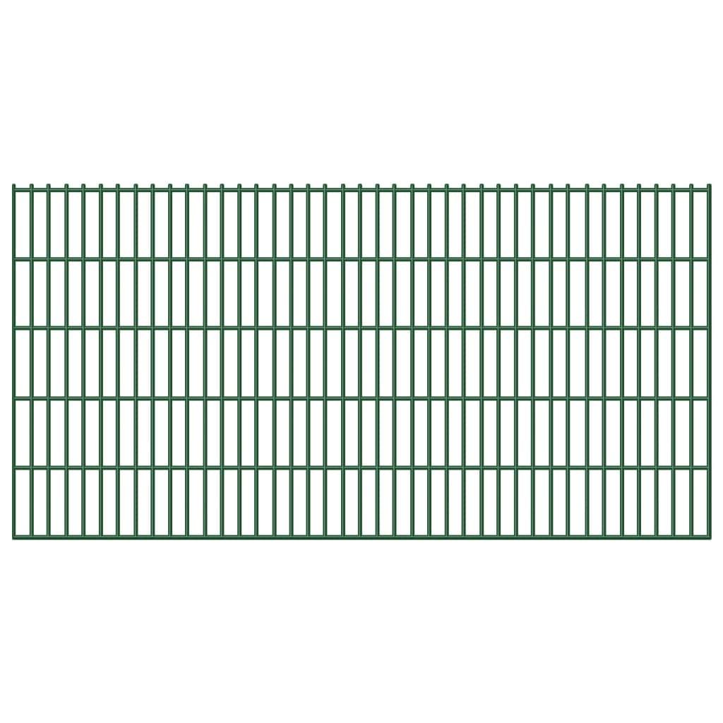 Zahradní plot, 2D železné plotové dílce, 6/5/6 mm drát, 103 cm x 40 m