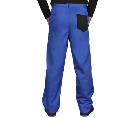 acheter pantalon de travail homme bleu 56 58 pas cher. Black Bedroom Furniture Sets. Home Design Ideas