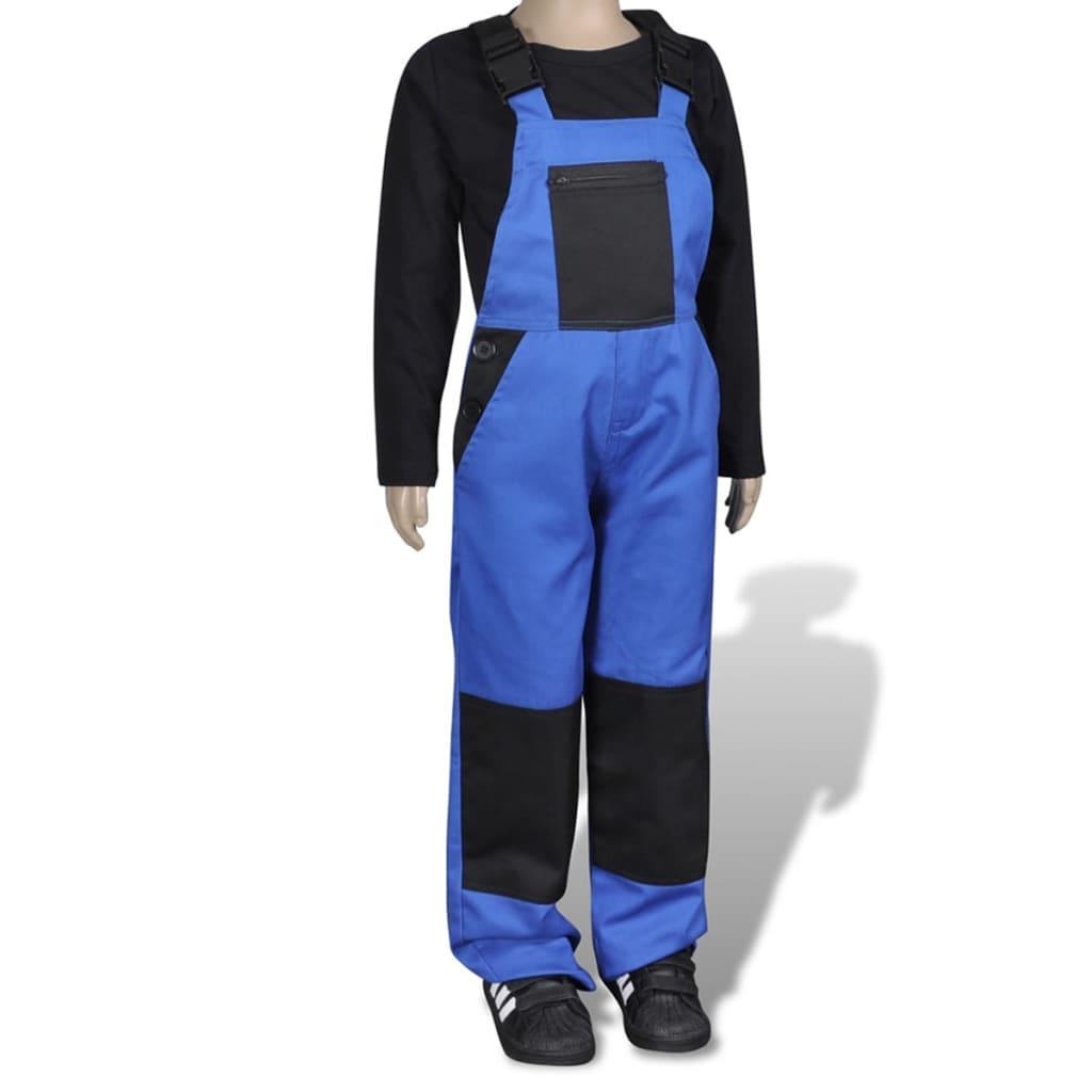 Dětské kalhoty barva modrá 122 / 128
