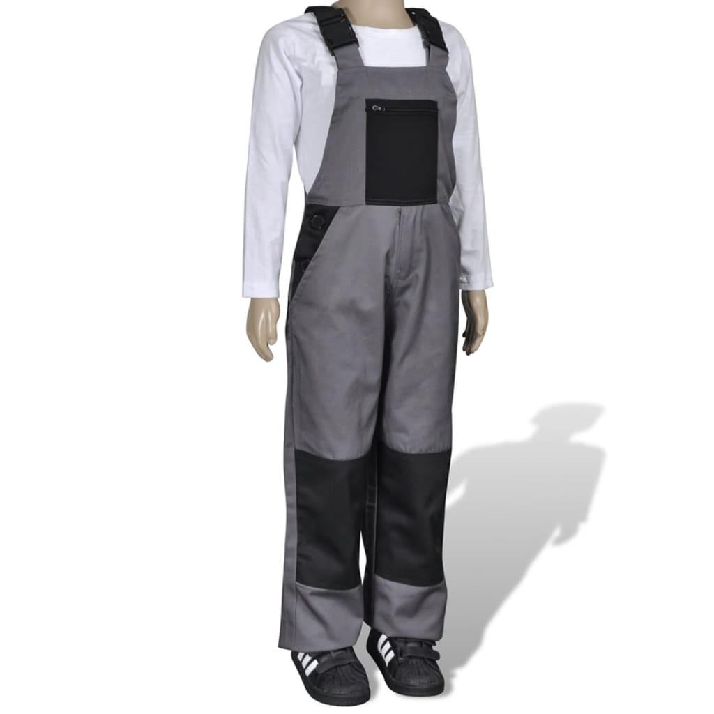 Dětské kalhoty barva šedá 110 / 116