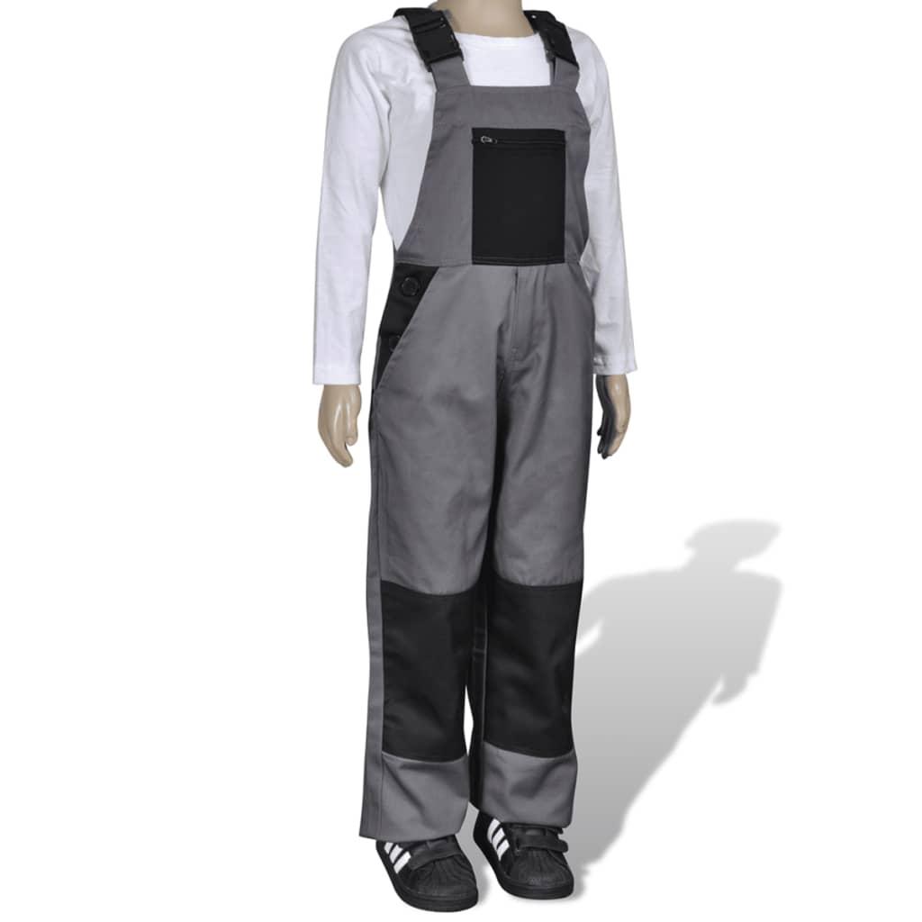 Dětské kalhoty barva šedá 158/164