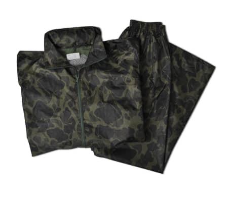 Regenpak 2-delig met capuchon (heren / camouflage / maat L)[5/6]
