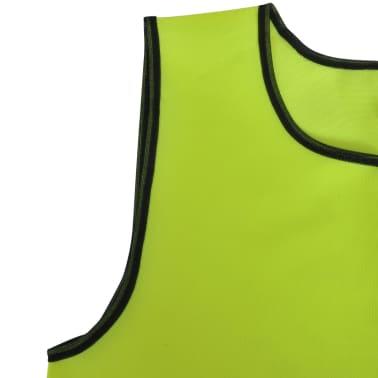 Gelbe Sportsshirts Sportweste für Erwachsene 10 Stück[4/4]