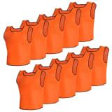 10 Oranžinių Sportinių Komandinių Marškinėlių Suaugusiems