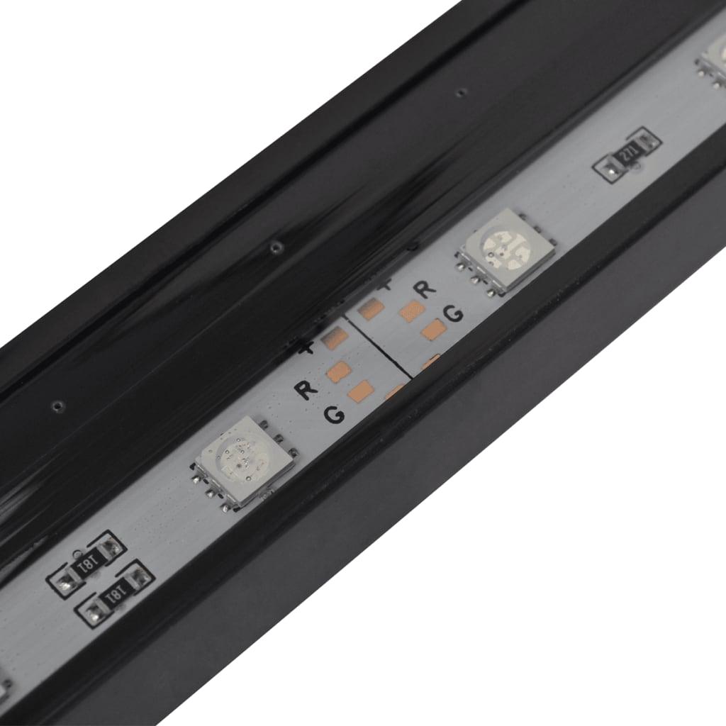 vidaXL LED-aquariumlamp met bubbels RGB 71 cm