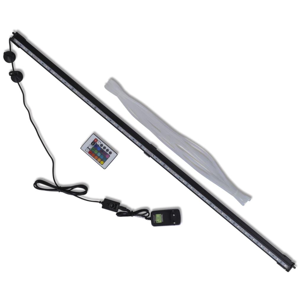 vidaXL Lampă cu LED pentru acvariu cu bule RGB 94 cm poza vidaxl.ro