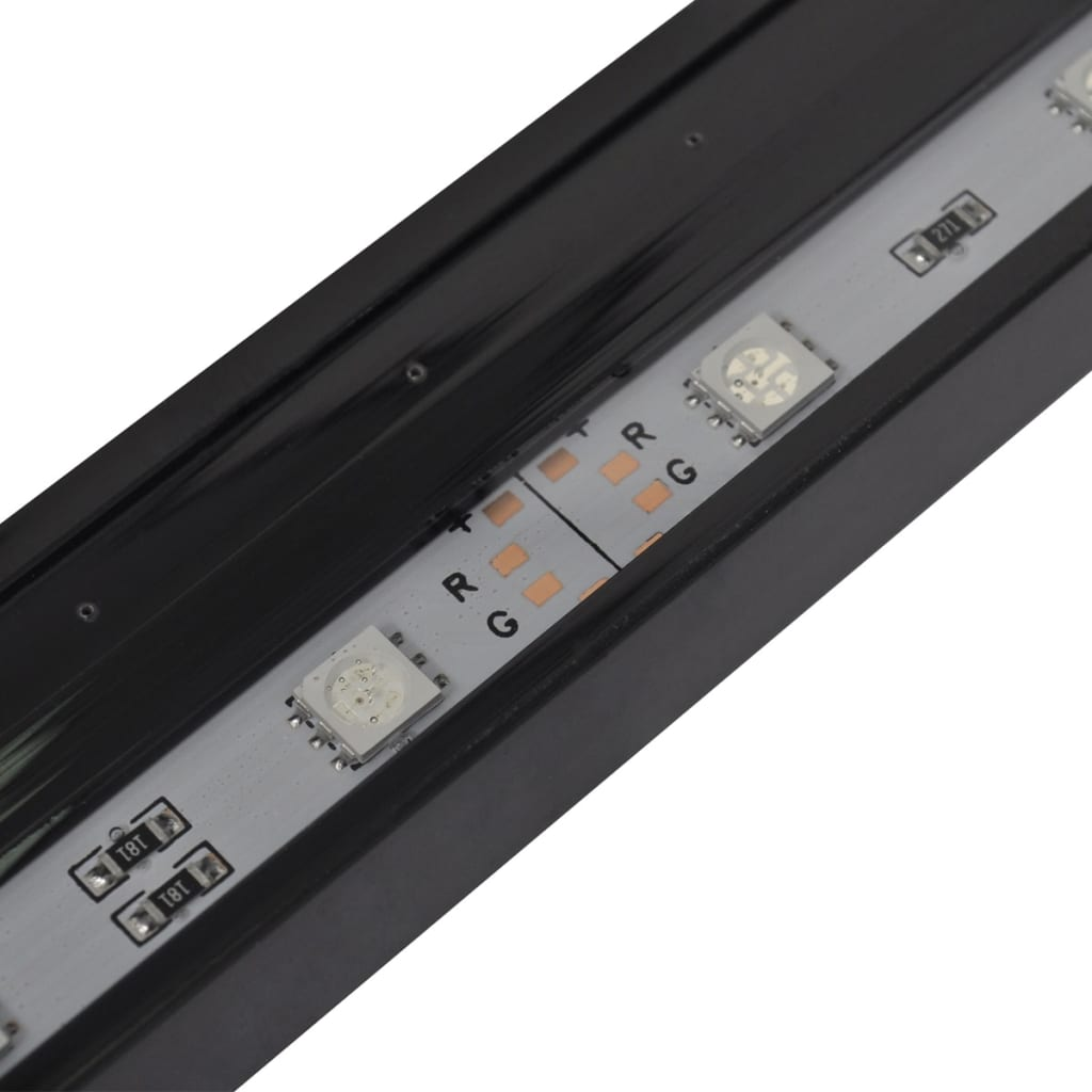 vidaXL LED-aquariumlamp met bubbels RGB 94 cm