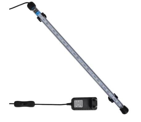 vidaXL Luce a LED per Acquario 48 cm Blu[1/9]