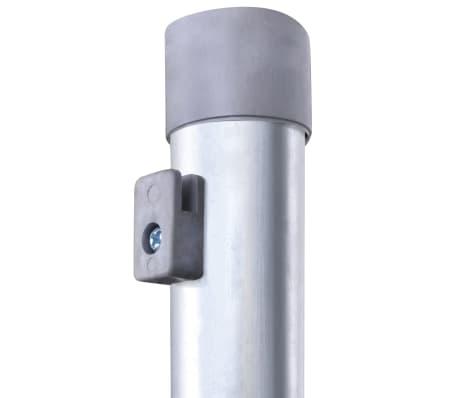 Clôture galvanisé avec poteaux 50 m 80/6/30[7/8]