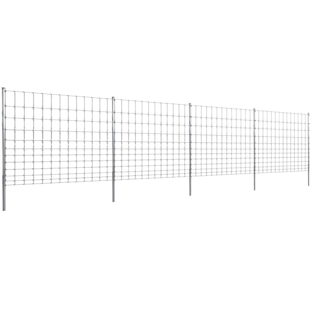 Plot lesnické pletivo 50 m se sloupky, pozinkovaný 150/12/30