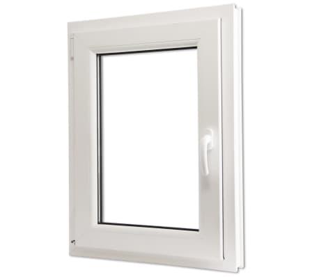 Acheter Fenêtre oscillo-battant en PVC Double vitrage Poignée droite ...