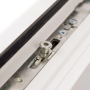 PVC okno dvojna zasteklitev ročka na levi800x400mm vrtljivo in nagib[8/9]
