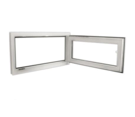 2 fach verglast drehkippfenster pvc linksseitig griff 900x500mm zum schn ppchenpreis. Black Bedroom Furniture Sets. Home Design Ideas