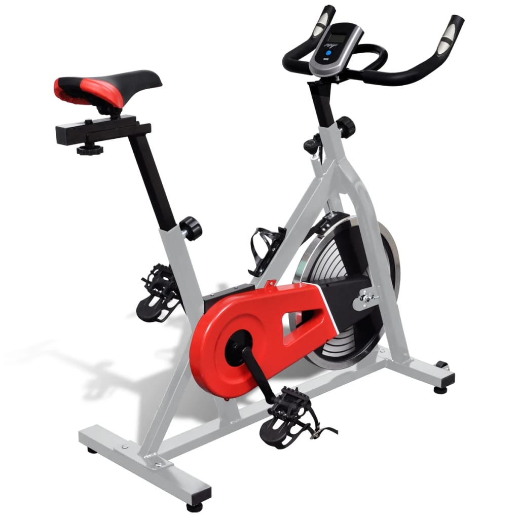 vidaXL Training Exercise Bike with Pulse Sensors