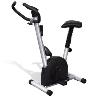 vidaXL Fitness Exercise Bike with Seat[4/6]