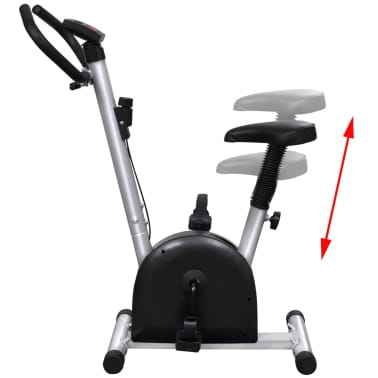 vidaXL Fitness Exercise Bike with Seat[5/6]