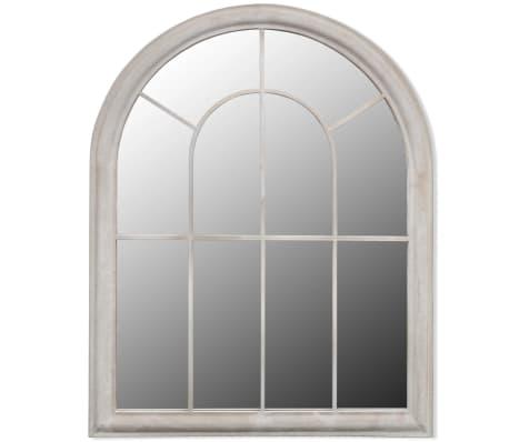 acheter miroir de jardin arche rustique 89 x 69 cm int rieur et ext rieur pas cher. Black Bedroom Furniture Sets. Home Design Ideas