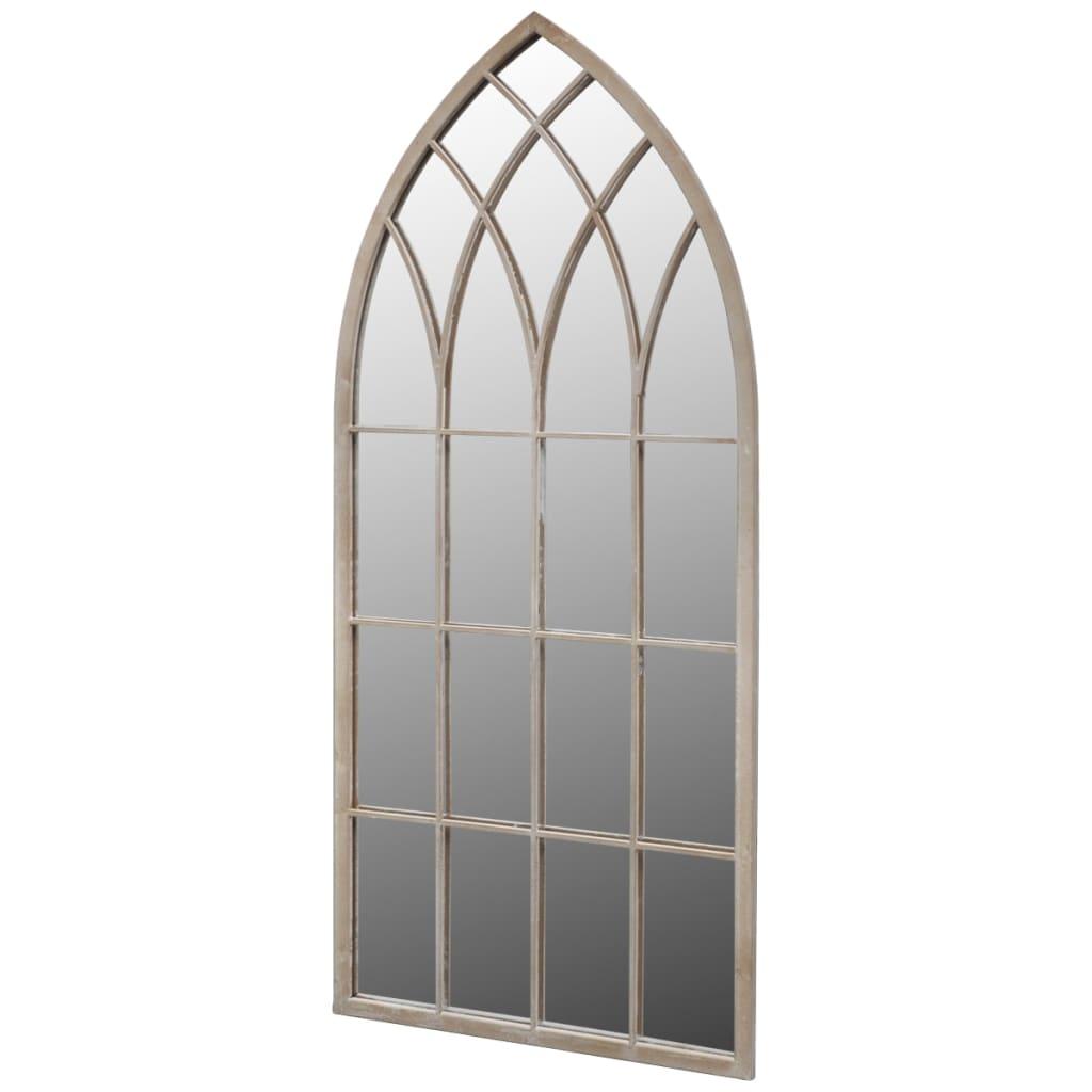 Afbeelding van vidaXL Gotische boogvormige tuinspiegel 115 x 50 cm