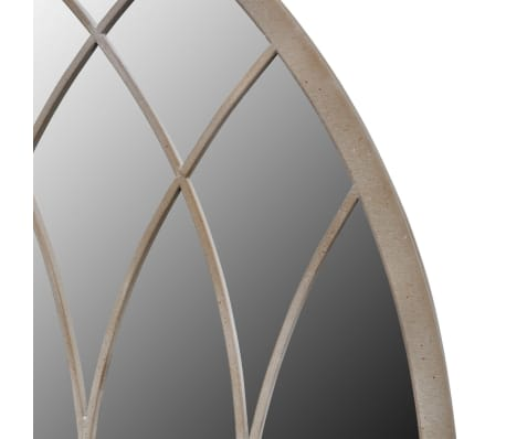 vidaxl miroir murale de jardin arche rustique couloir. Black Bedroom Furniture Sets. Home Design Ideas