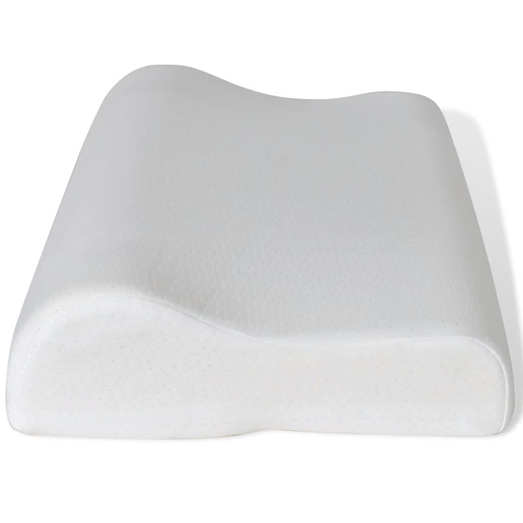 Ortopedski jastuk s memorijskom pjenom, 2 kom