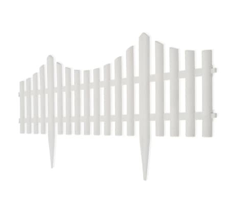 White Lawn Divider 17 pcs 32.8 ft[6/8]