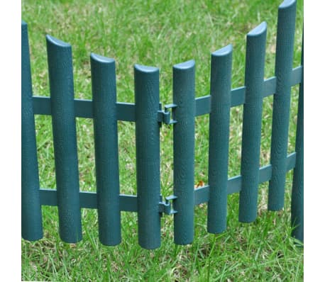 Green Lawn Divider 17 pcs 32.8 ft[3/8]