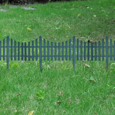 Green Lawn Divider 17 pcs 32.8 ft[5/8]